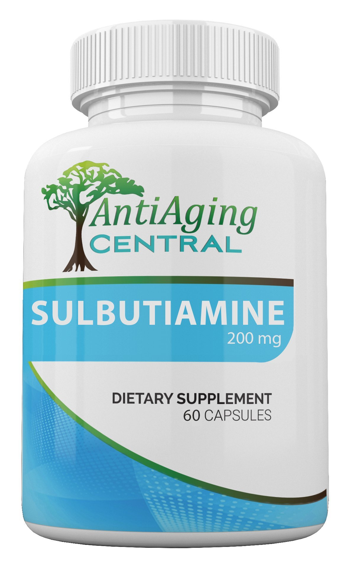 Sulbutiamine 200mg, 60 Caps | A Premium Nootropic Supplement for Memory, Mood and Energy