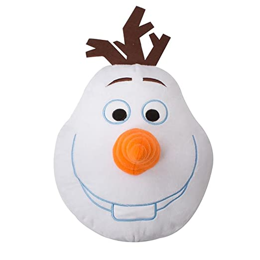 Disney - Cojín 3D con diseño de Olaf para niños (Talla Única ...