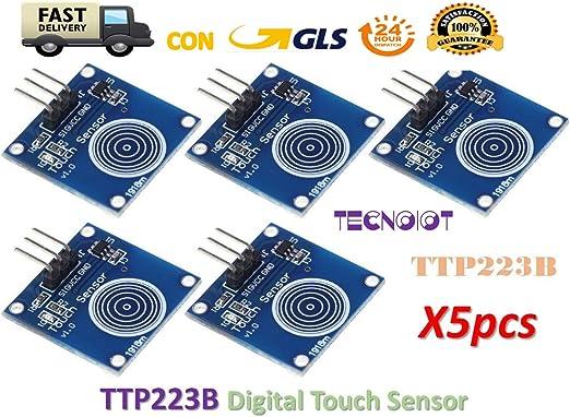 TTP223 Berührungssensor Digital Touch Sensor Modul kapazitiver Schalter 201