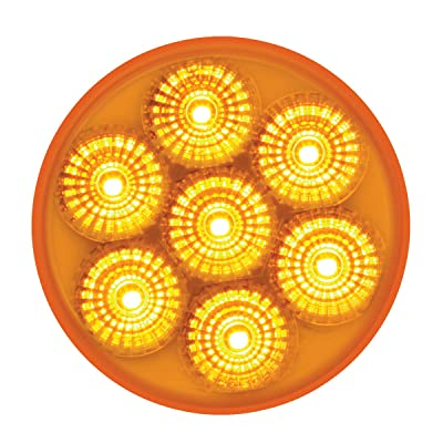 GG Grand General 76665 2.5 inches Low Profile Spyder Amber/Amber 7 LED Dual/3wires Light: Automotive
