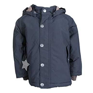 e916433d MINI A TURE Wally Winter Jacket blue ombre , Boys:104 cm/3-4: Amazon ...