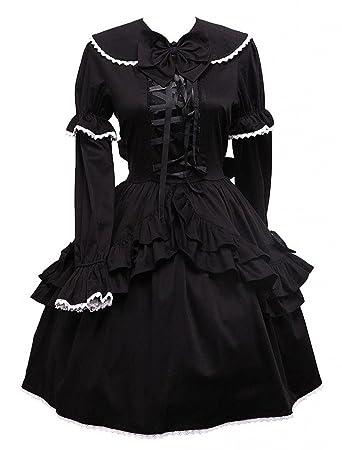 Amazon schwarze lange kleider