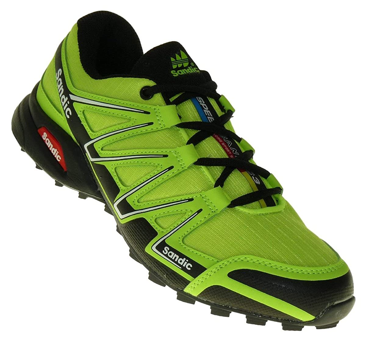 Bootsland 713 Neon Turnschuhe Sneaker Sportschuhe Herren