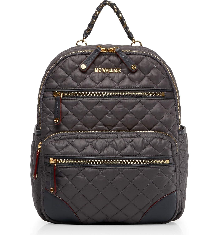 (エムジーウォレス) MZ Wallace Small Crosby Backpack 小さなクロスビーリュック [並行輸入品] One Size Magnet B07JCV9FQZ