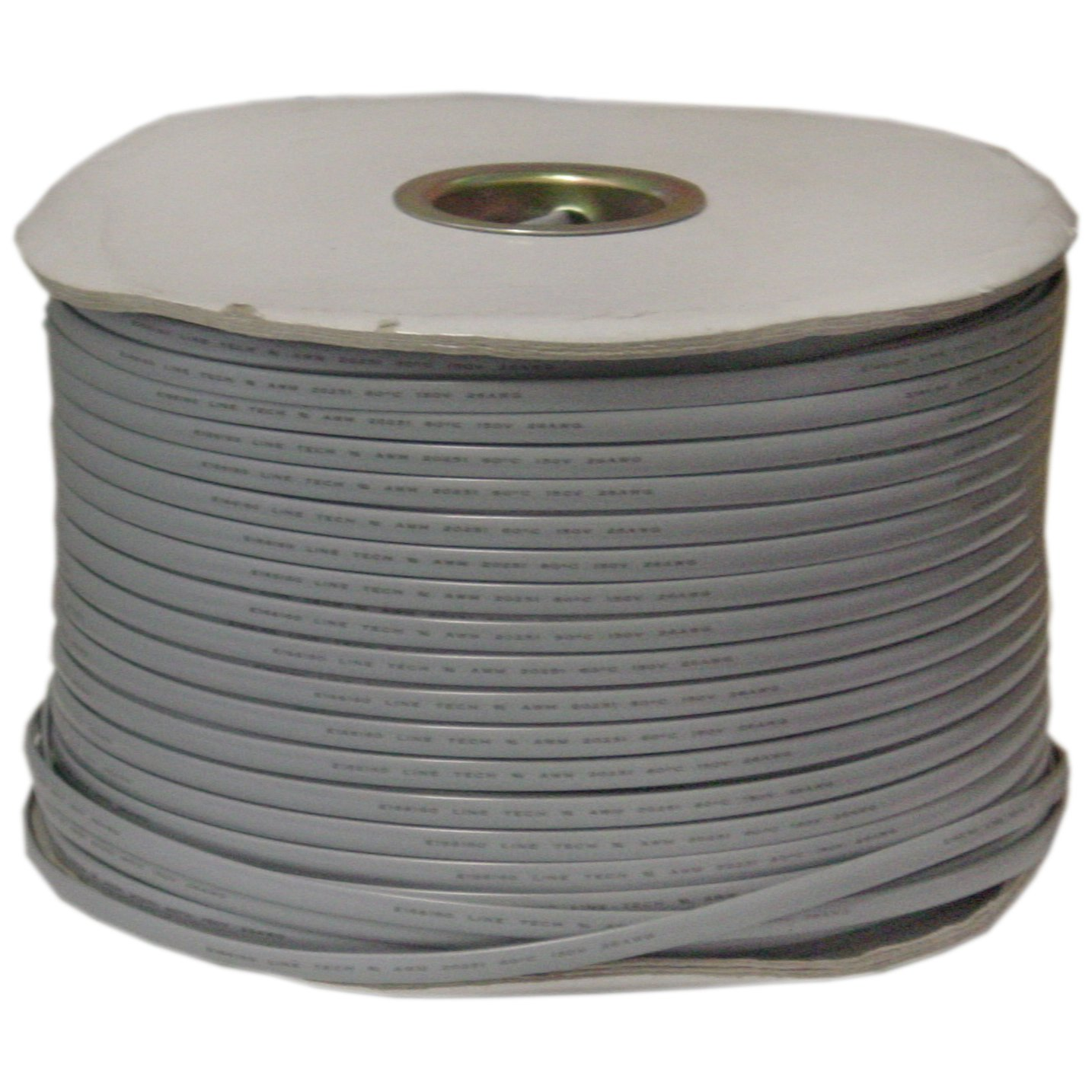 CableWholesale's Bulk Phone Cord, Silver Satin, 26/6 (26 AWG 6 Conductor), Spool, 1000 foot