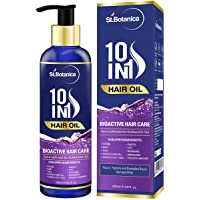 StBotanica 10 In 1 Hair Oil (Jojoba, Almond, Castor, Olive, Rosemary, Grapeseed Oil & more) 100ml