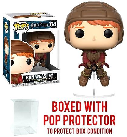 Amazon.com: Funko POP. Películas: Harry Potter – Ron Weasley ...
