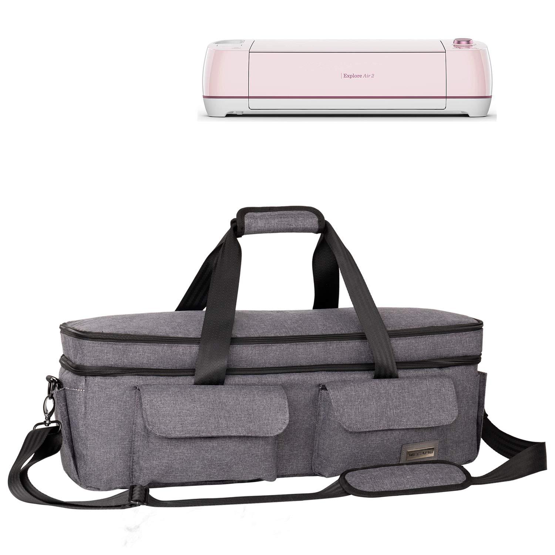 Cricut Accessories Case Bag Pink Cricut Maker Cricut Die-Cut Machine Air2 Weeare Double-layer Cricut Carrying Bag Compatible with Cricut Explore Air