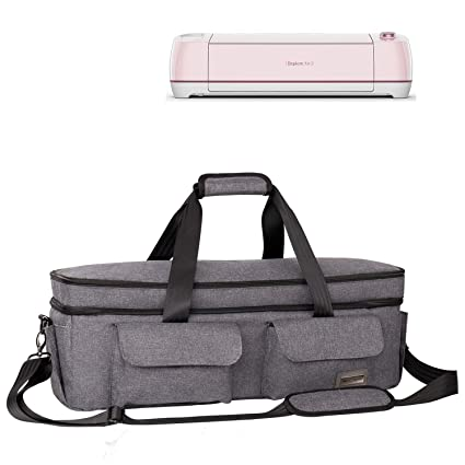 939162d55191 Weeare Double-layer Cricut Carrying Bag Compatible with Cricut Explore  Air(Air2), Cricut Maker, Cricut Die-Cut Machine | Cricut Accessories Case  Bag ...