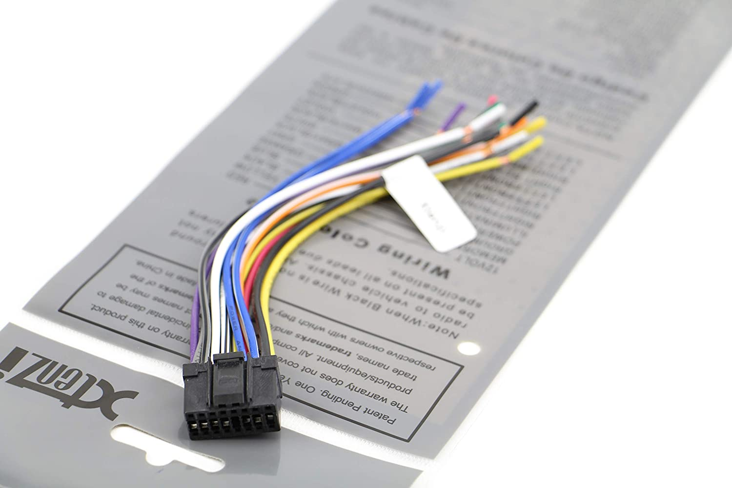 Compatible with Pioneer DEH-P880PRS Aftermarket Stereo Radio Receiver Replacement Wire Harness
