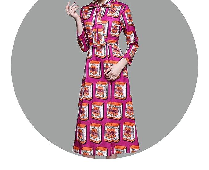 Rose Print Midi Womens 2018 Vestidos Mujer Casual Shirt Dress Vestidos De Verano Robes Femme K5730