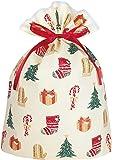 インディゴ クリスマス グリーティングバッグLL ハッピークリスマス XG497