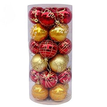 Bolas De Navidad Árbol De Navidad Decoración De Navidad Bolas De Navidad Bola Pintada En Botella