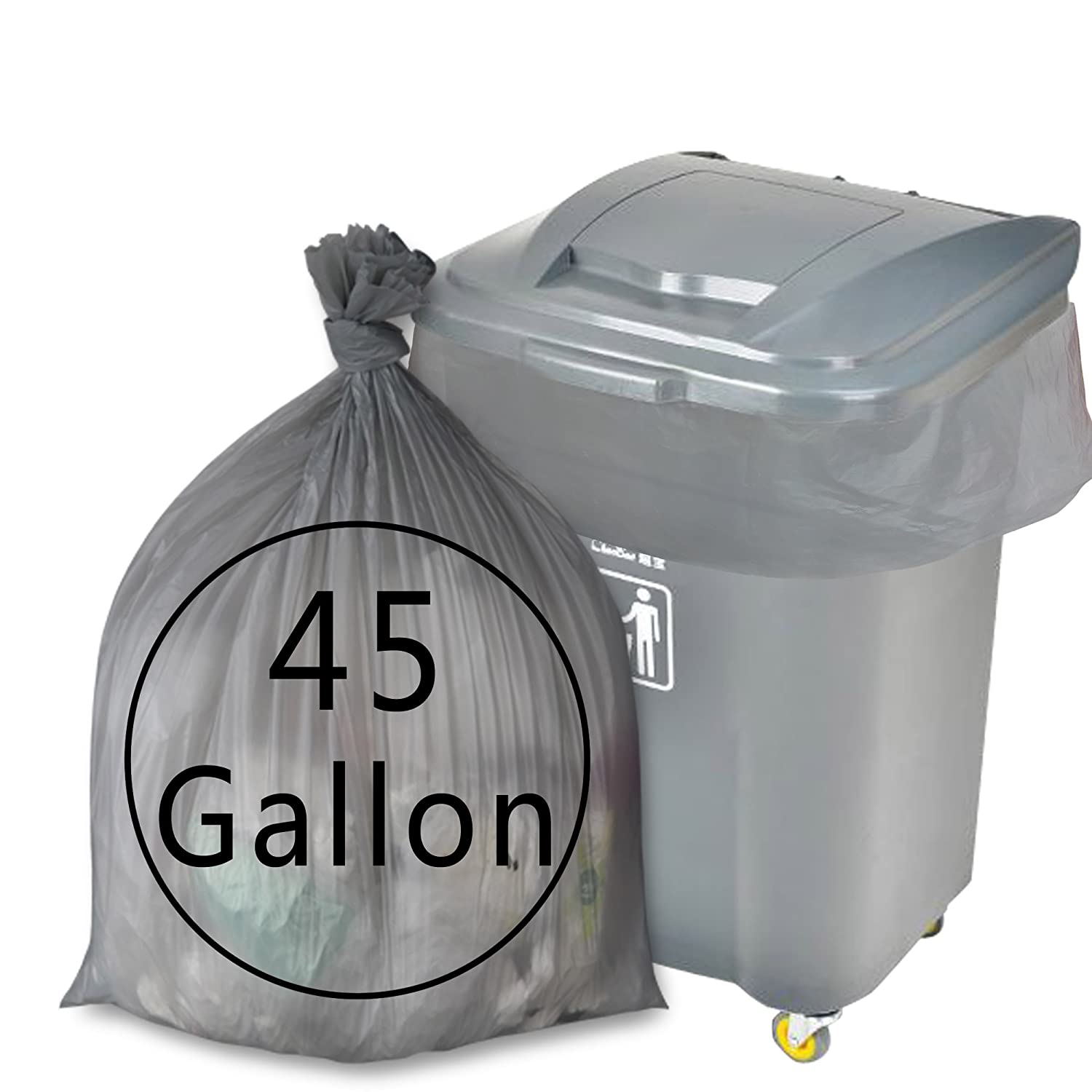Anbers 30 Gallon Large Trash Bags, 70 Counts Anbers135