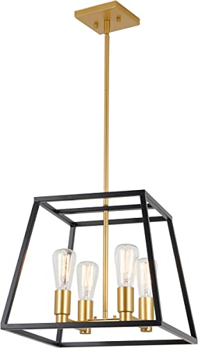 Artika CAR15-ON Carter Square 4 Pendant Light Fixture