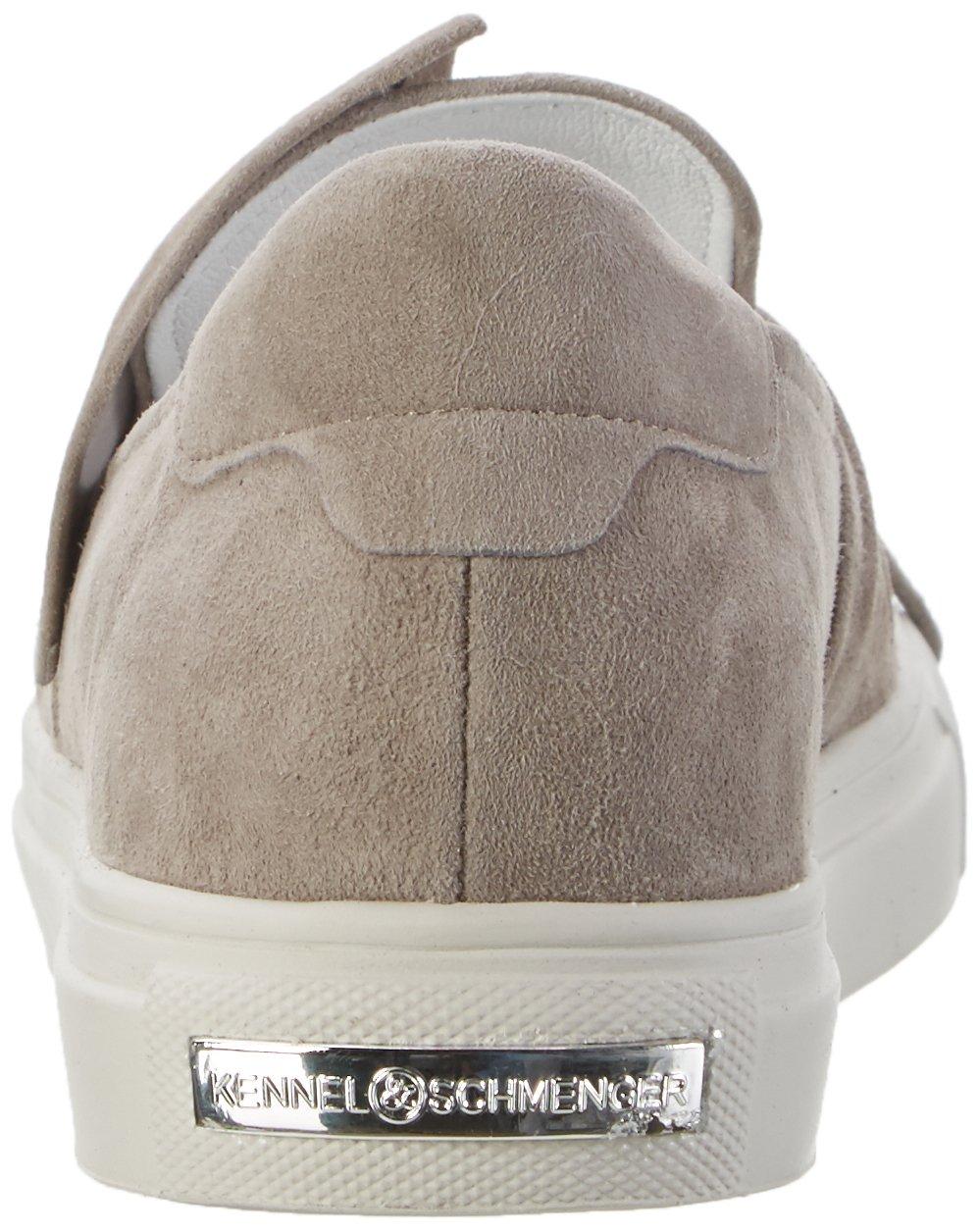 Kennel und Schmenger Schuhmanufaktur Damen Basket Weißs) Sneakers Grau (Ghost Sohle Weißs) Basket 324372
