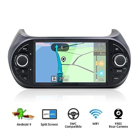 32GB OCTA Core Android 8.1 GPS NAVI HEAD UNIT for Fiat Fiorino//Qubo//Citroën Nemo