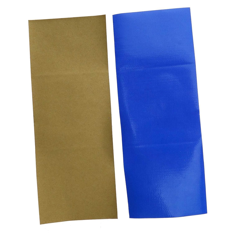 color azul 10 parches adhesivos impermeables para reparaci/ón