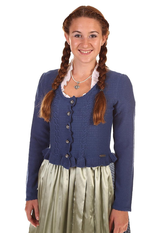 Hammerschmid Damen Strickjacke Corvara 76564 blau