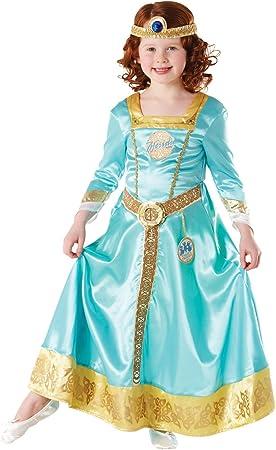 Rubies - Disfraz Oficial de la Princesa Mérida de Disney, Talla ...