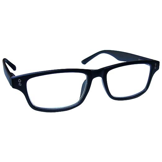 58 opinioni per UV Reader Nero Opaco Occhiali da Lettura Uomo Donna UVR033BLK Diottria +2,00