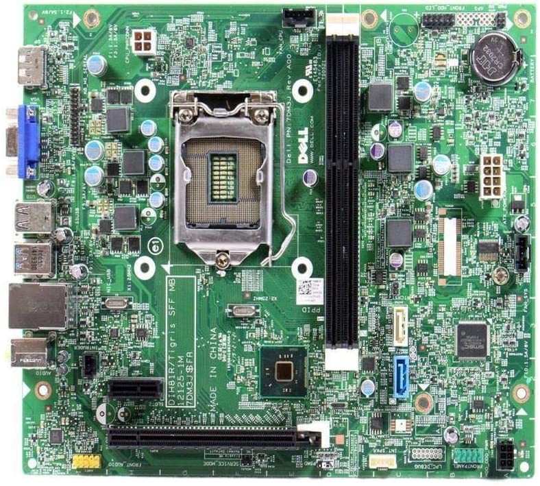 Dell Optiplex 3020 SFF Intel H81 Chipset LGA1155 Socket DDR3 SDRAM 2 Memory Slots Motherboard WMJ54 0WMJ54 CN-0WMJ54 7DM3J (Certified Refurbished)