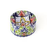 Hand-painted Ceramic Pet Bowl | Bella Hacienda