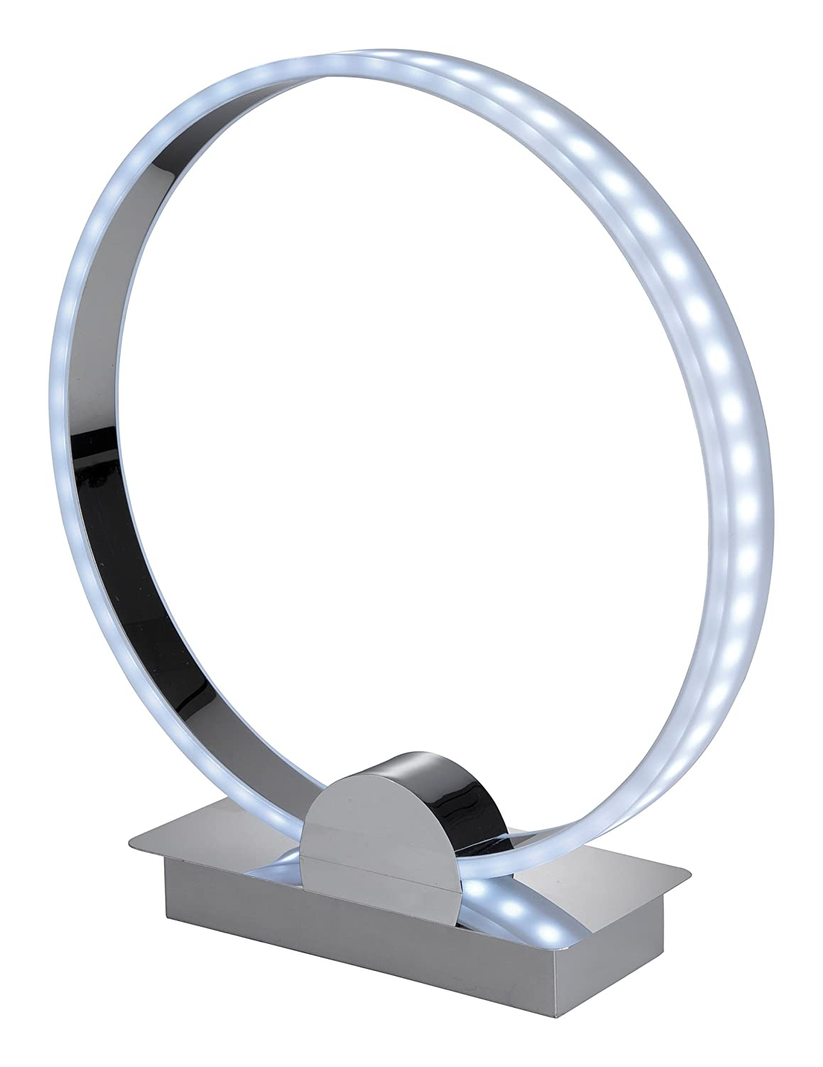firstlight ch  watt led ring table lamp chrome with rgb  - firstlight ch  watt led ring table lamp chrome with rgb led'samazoncouk lighting
