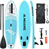 MaxKare Inflatable Paddle Board Stand Up Paddle Board SUP with Premium Stand-up Paddle Board Accessories&Non-Slip Deck ISUP B