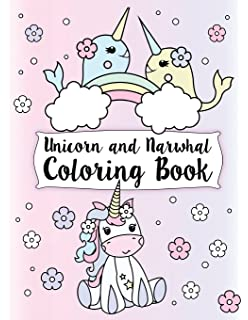 Amazon.com: Unicorn Coloring Book for girls: A Super Cute Coloring ...