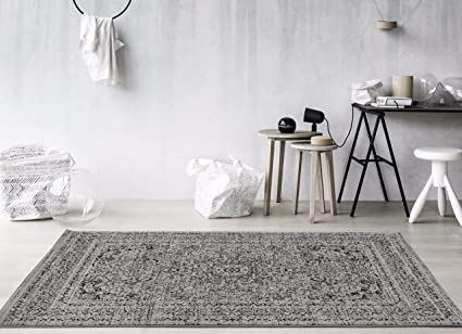 Amazon Persian Area Rugs 3212 Gray 8x10 Rug Carpet