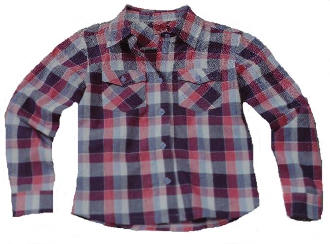 Q-Solutions Girls' Blouse multi-coloured Lila/ Rosa: Amazon.co.uk: Clothing
