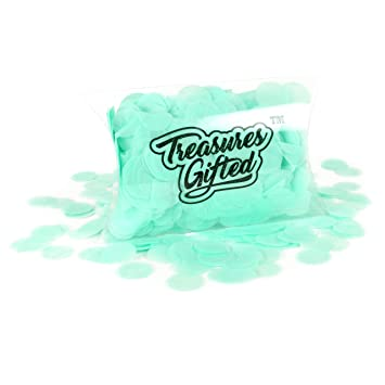Amazon Mint Tissue Paper Pastel Confetti Dots For Toss Bags Ice