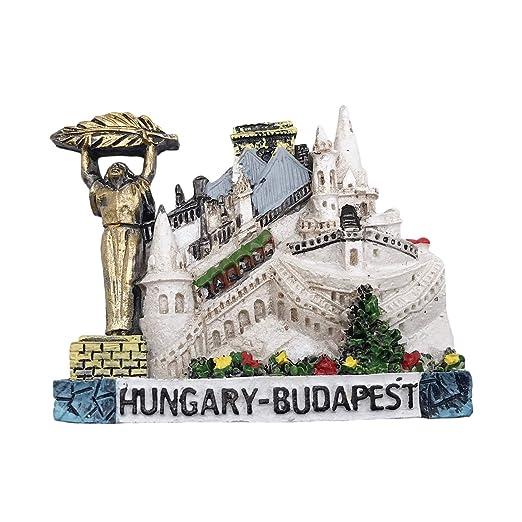 3D Budapest - Imán para nevera, diseño de Hungría con texto en ...