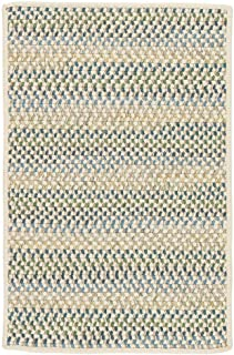 product image for Chapman Wool Rugs, 5' x 8', Peacock Blue Natural
