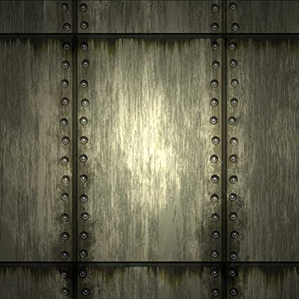 GladsBuy Metal Texture 10 x 20 Computer Printed Photography Backdrop Textures Theme Background DT-SL-042