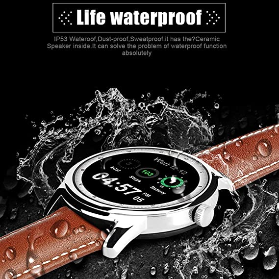 Bluetooth Smartwatch Deportivo MOREFINE Pulsera inteligente IPS ...