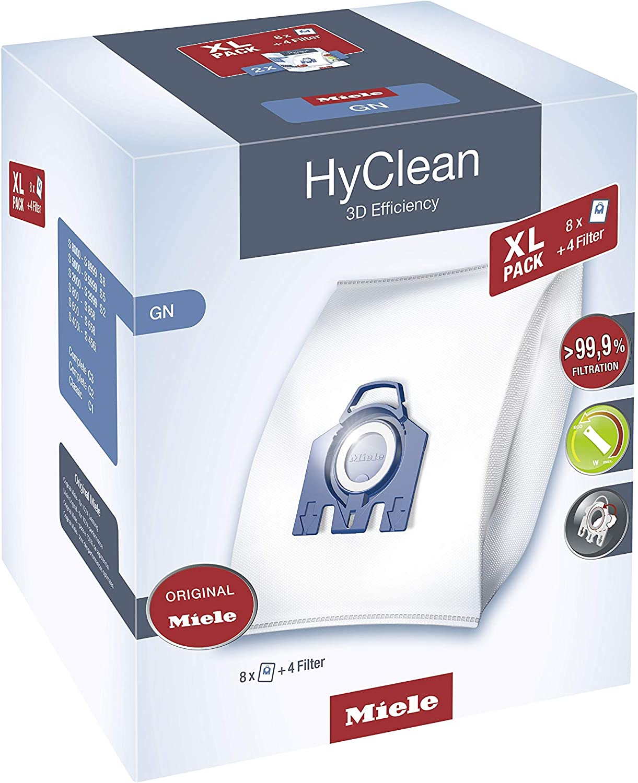 Miele HyClean 3d eficiencia XL GN bolsas para aspiradora: Amazon.es: Hogar