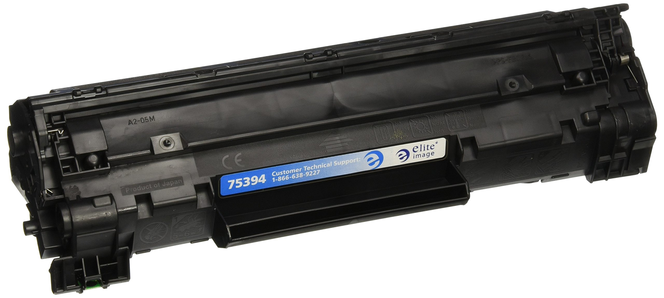 Elite Image ELI75394 Compatible Toner Replaces HP CB435A (35A), Black