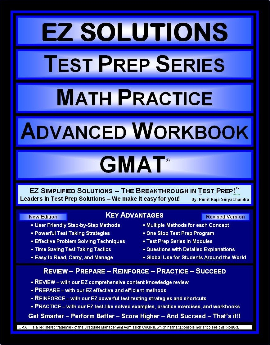 EZ Solutions - Test Prep Series - Math Practice - Advanced ...