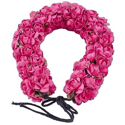 Buy Kabello Artificial Flower Hair Gajra For Hair Bridal Girls Hair