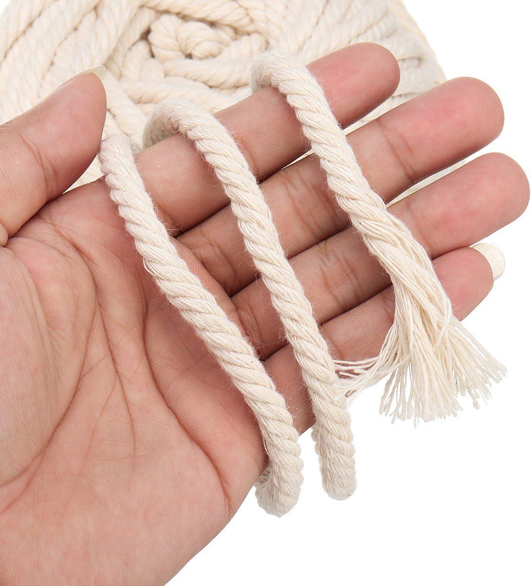 Cuerda de yute trenzada de 10 mm x 10 metros Cotton Rope
