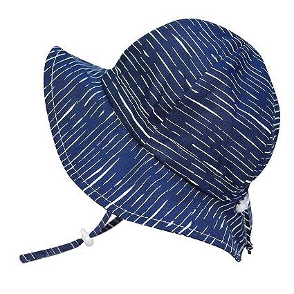 ebd8097169114 Cute Newborn Baby Boy Breathable Summer Sun Hat 50 UPF