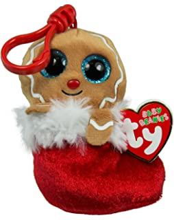 4bb06667610 TY Holiday Baby - JINGLY the Gingerbread (2016) (key clip - 3.5 inch