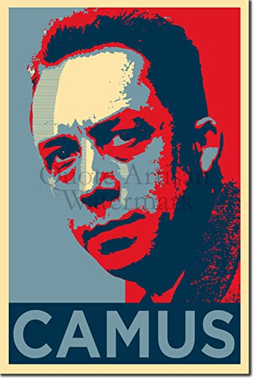 Albert Camus New Custom Art Poster Print Wall Decor