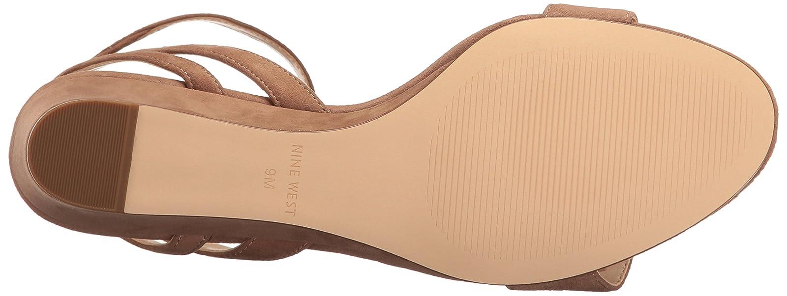 Nine West Women's Lewer Suede Wedge Sandal 8 M US - 3