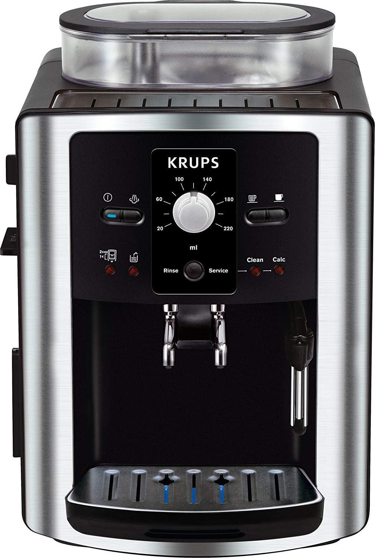Krups Espresso Automatic EA8010, Negro, Plata, 1450 W, 245 x 330 x ...