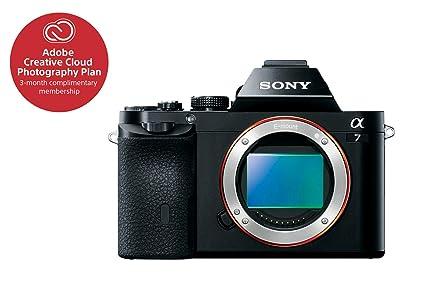 Sony A Full Frame Mirrorless Digital Camera Body Only