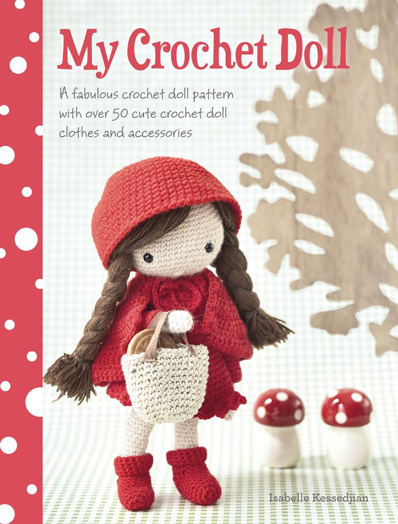 Free Crochet Paperback Book Cover Pattern ~ My crochet doll a fabulous crochet doll pattern with over cute