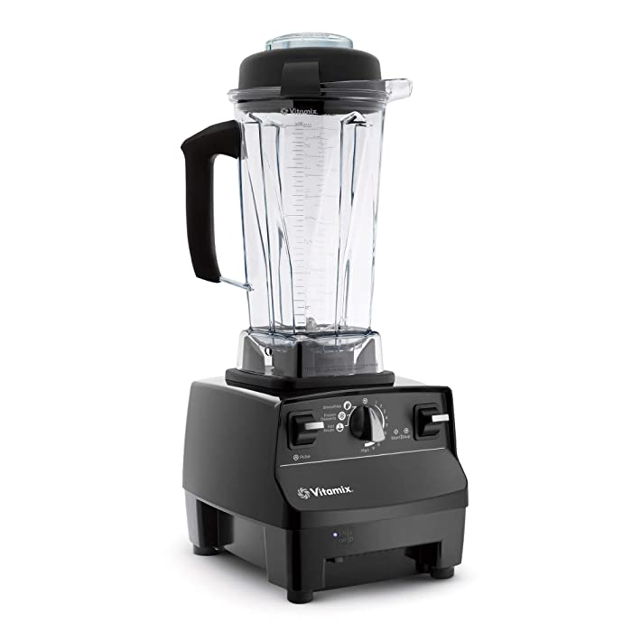 Vitamix Standard Programs Blender, Professional-Grade, 64oz. Container, Black (Certified Refurbished),